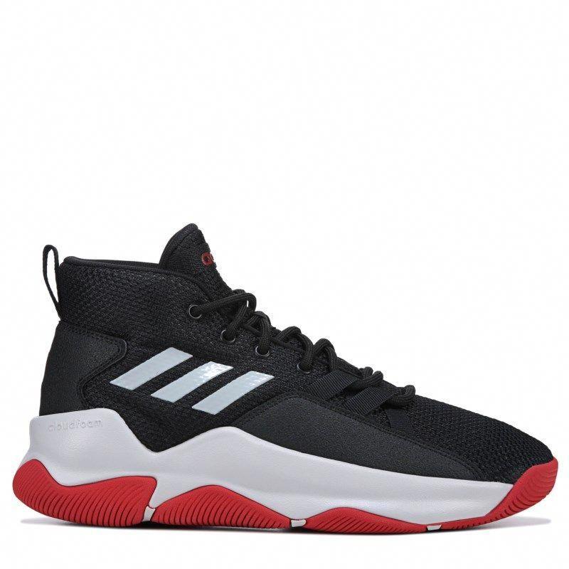 2588f2289637 Adidas Men s Streetfire Basketball Shoes (Black Red)  AdidasBasketballShoes