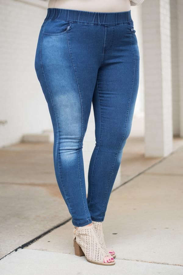 detailed pictures first rate fresh styles Feeling Right Jeggings, Dark Wash in 2019 | Darling In Denim ...