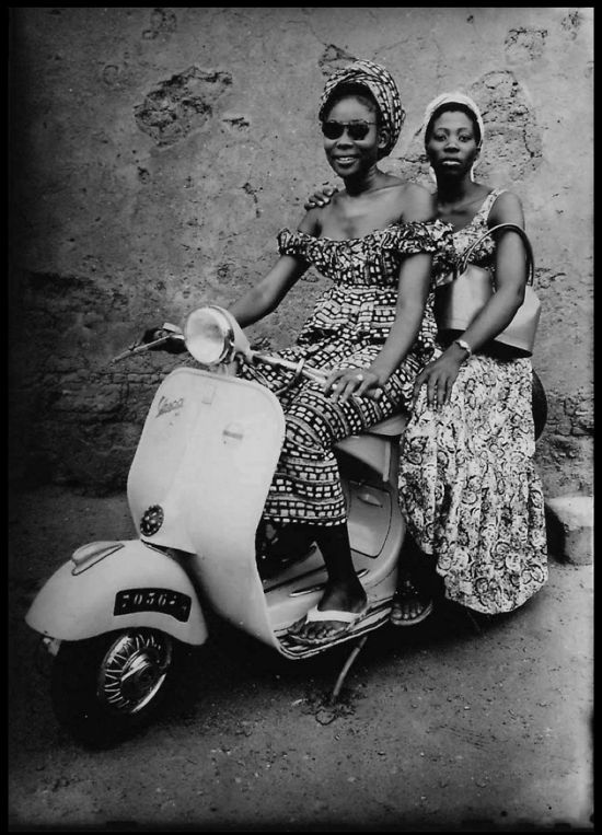 Girls on Bike by Seydou Keita