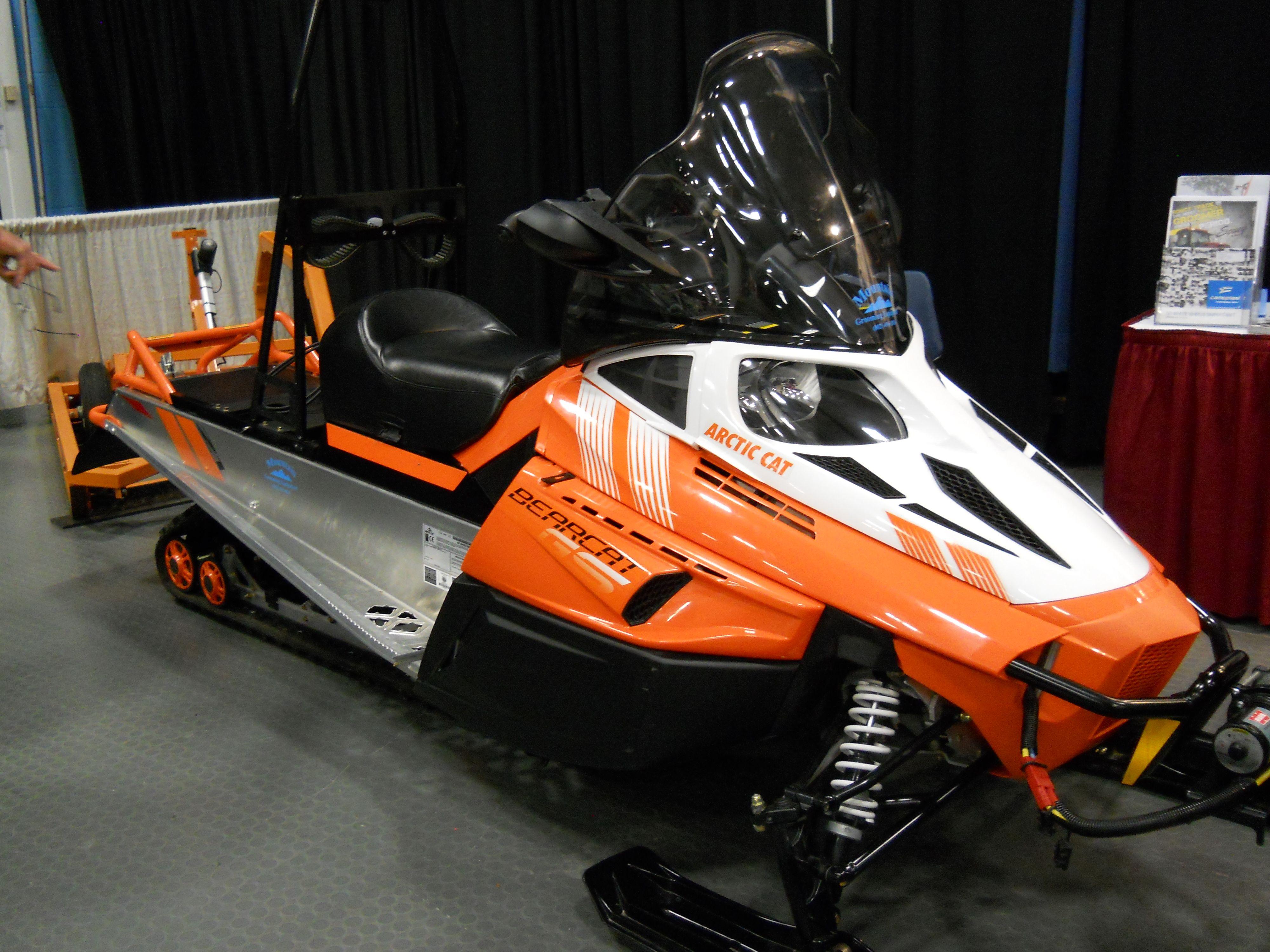 Mountain Grooming Equipment BearCat ArticCat Snowmobile