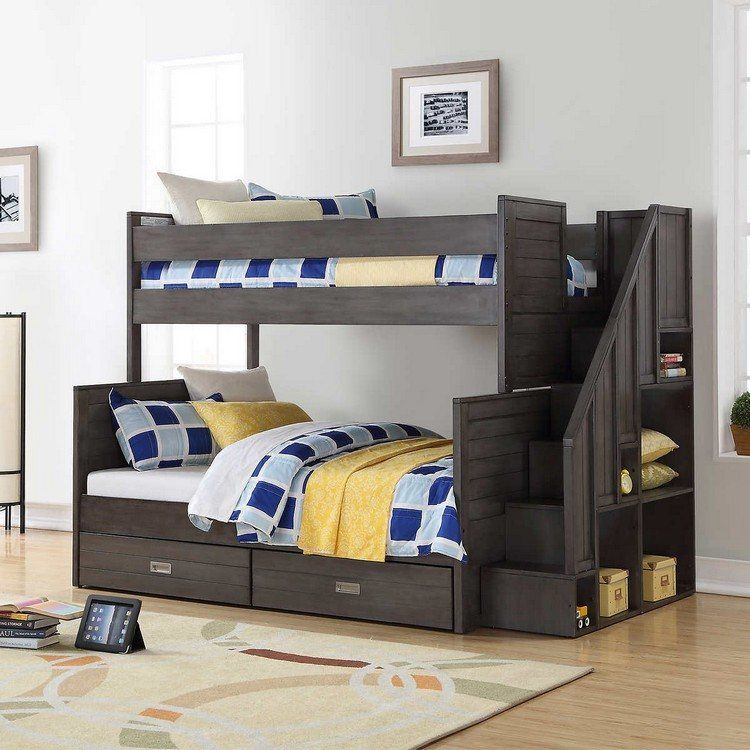 chambre enfant gain de place lit enfant gain place mezzanine gain de place lit gain de place. Black Bedroom Furniture Sets. Home Design Ideas