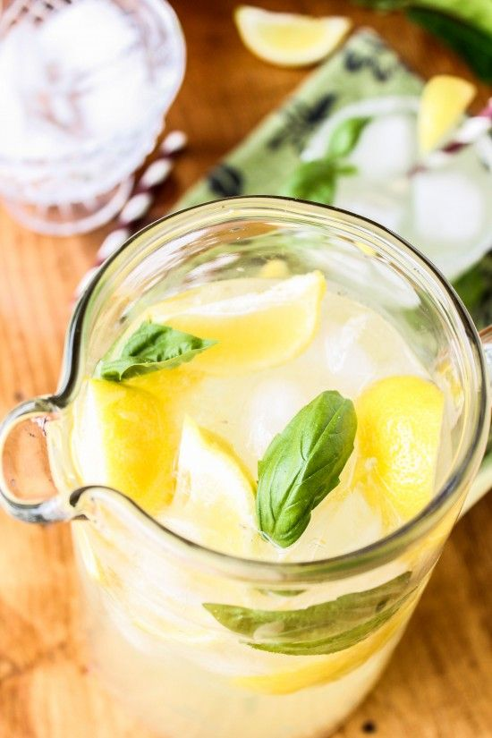 #Recipe: Basil #Lemonade #basillemonade