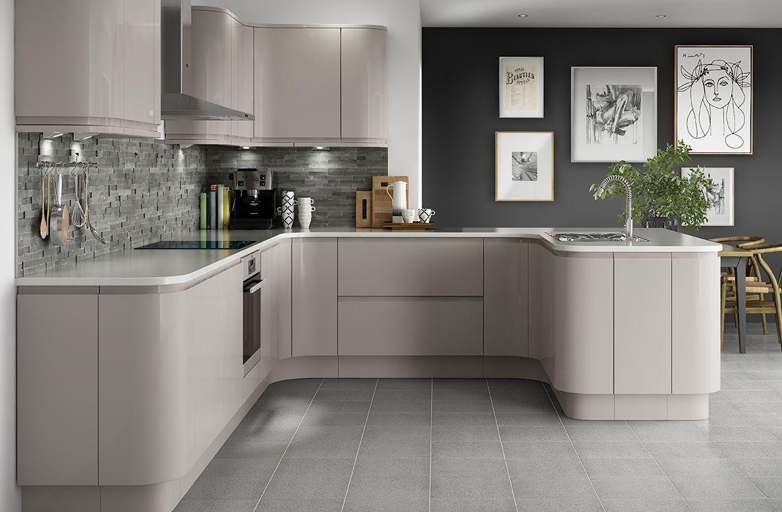 Holborn Kitchen, Cashmere kitchen, Home decor kitchen