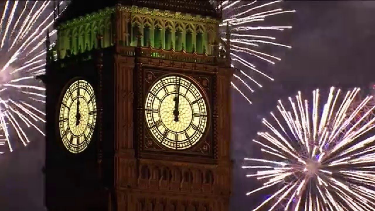 NEW YEAR COUNTDOWN 2018 ( v 625 ) 30 sec TIMER with sound