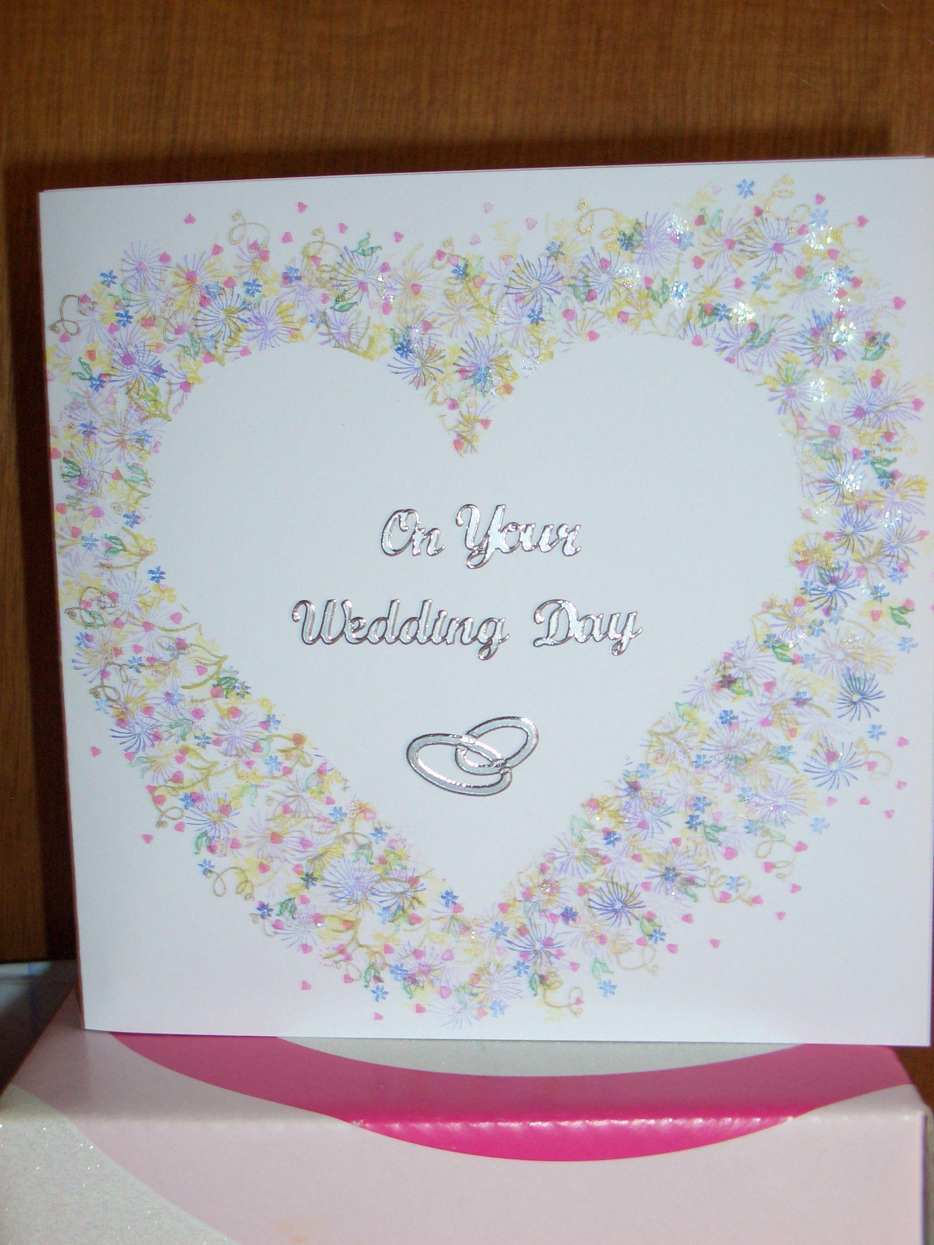 Wedding Card using Peg Stamps & Peel-offs
