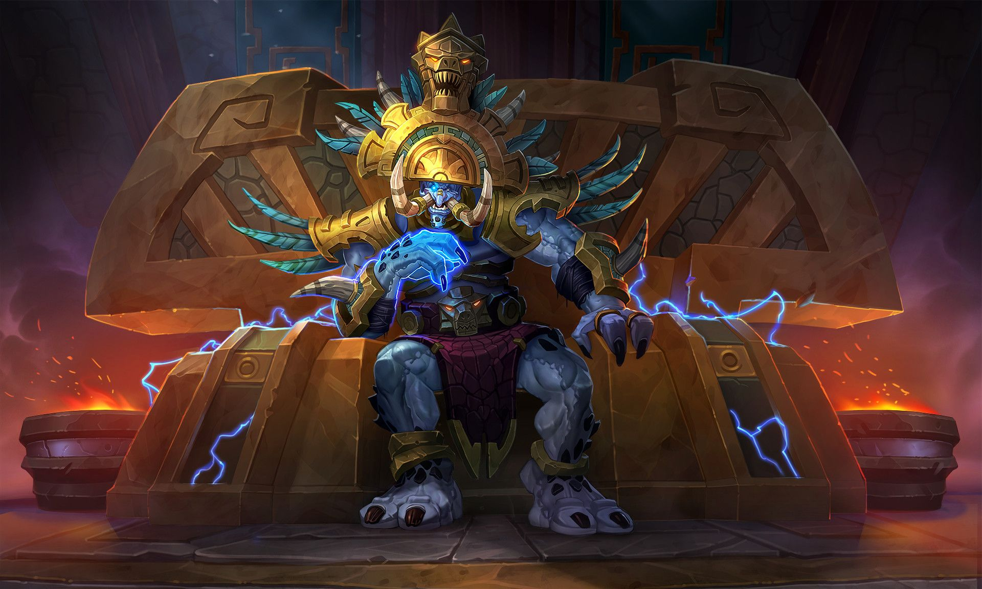 Hearthstone - King Rastakhan, AJ Nazzaro | Warcraft art, World of warcraft,  Hearthstone heroes