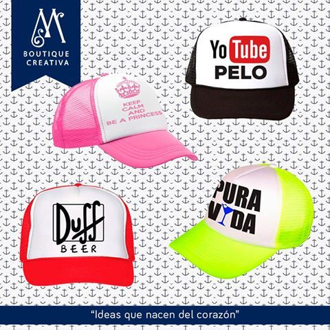 ¡Gorras Personalizadas! Contamos con diferentes colores y pueden ser  personalizadas para cualquier tipo de 790289074b1