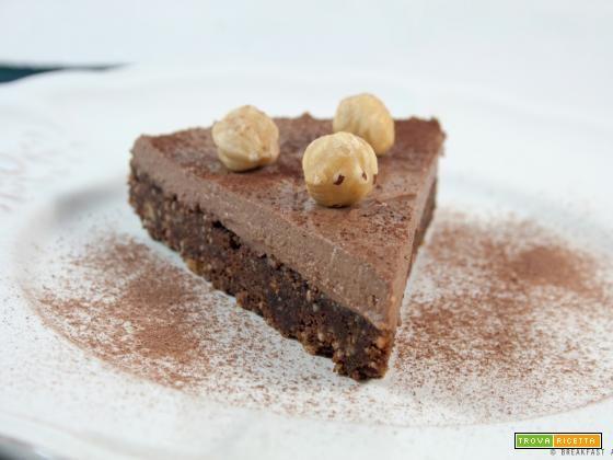 Torta al cioccolato senza cottura / No-bake chocolate cake recipe  #ricette #food #recipes