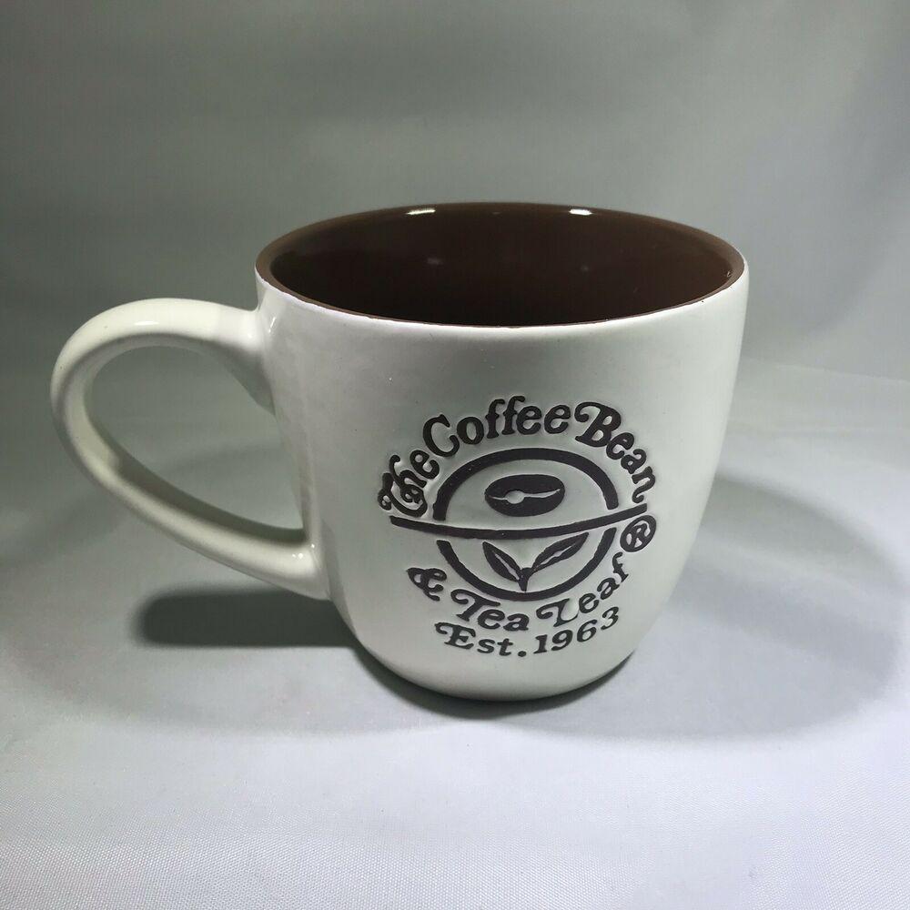 The Coffee Bean And Tea Leaf Ceramic Coffee Mug 2013 By California Pantry Tea Leaves Coffee Beans Beans