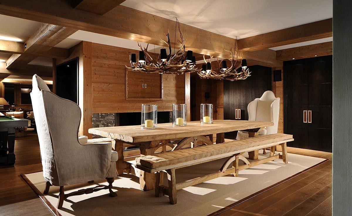 ski chalet furniture. portfolio nicky dobree interior designer design luxury ski chalet furniture