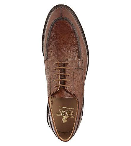 crockett  jones durham split toe derby shoes  derby