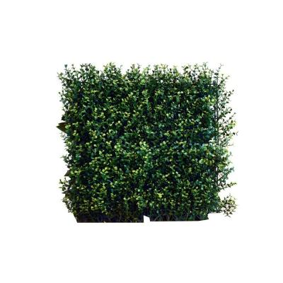 Greensmart Decor 20 In X 20 In Artificial Ficus Spring Wall Panels Set Of 4 Mz 8048y The Home Depot Artificial Foliage Artificial Plants Outdoor Small Artificial Plants
