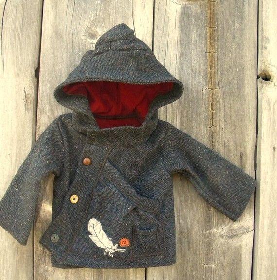Curious Gatherer Wool Coat
