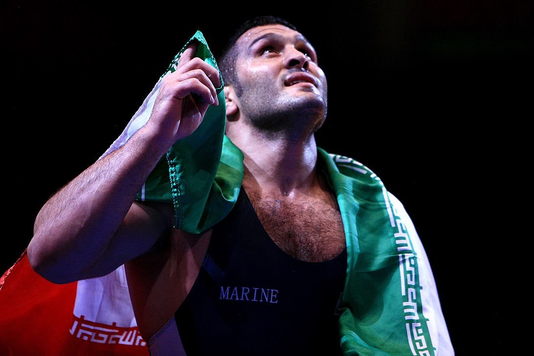 Wrestling World Championships open with two golds for Iran