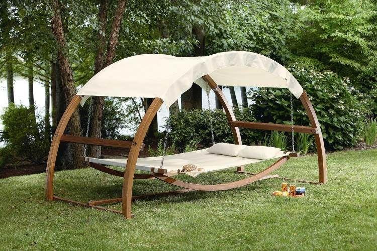 Balancelle de jardin: plusieurs exemples inspirants pour vous ...