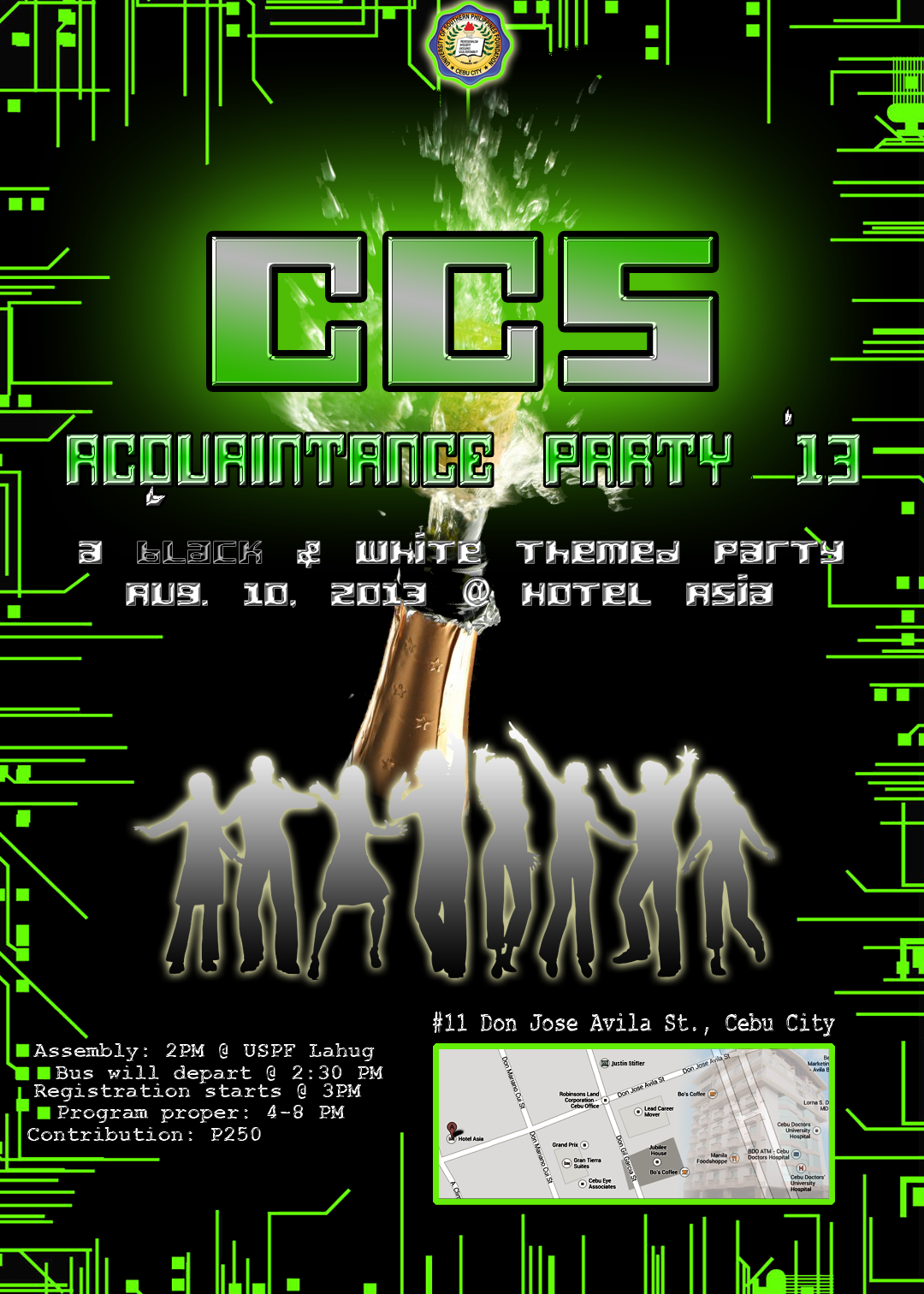 Poster ccs acquaintance party 2013 originals pinterest poster ccs acquaintance party 2013 stopboris Images