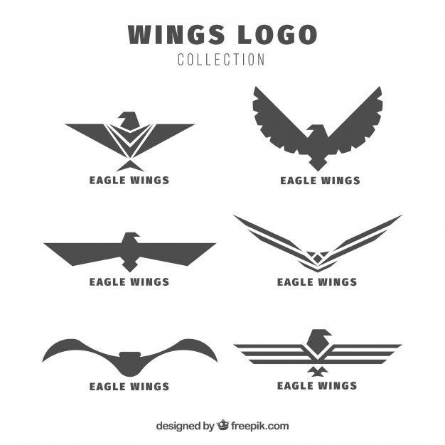 baixe pacote de logotipos de asas aguias gratuitamente wings logo wings design badge design baixe pacote de logotipos de asas