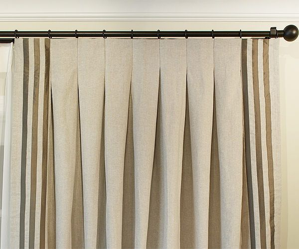 Drapery Pleat Styles Pleated Curtains Inverted Pleat Drapery Pinch Pleat Curtains