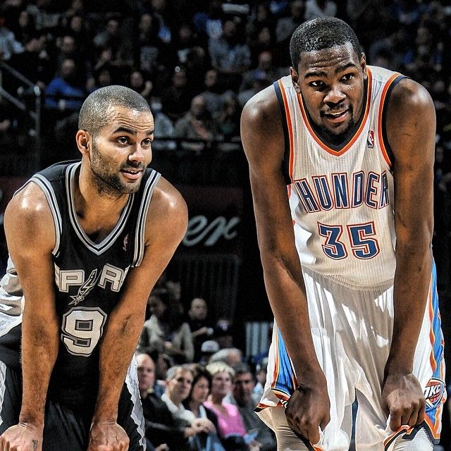 Thunder x Spurs West Conference final