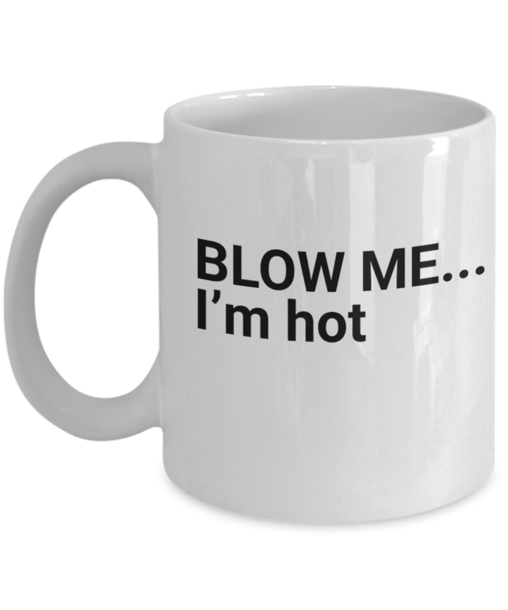 Funny Mugs Sayings Gift, Cute White Mugs For Guys & Girls
