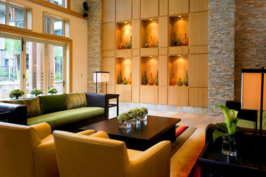 Luxury Elegant Lobby Sofas Design Of The Westin Verasa Napa Hotel California Style