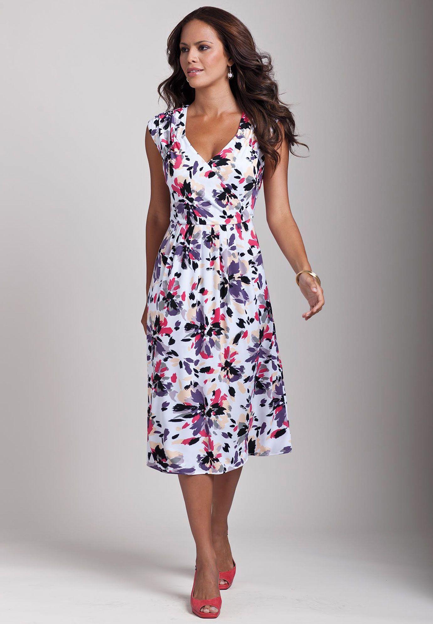 Plus Size Empire Waist Dress Plus Size Dresses Suits Roamans