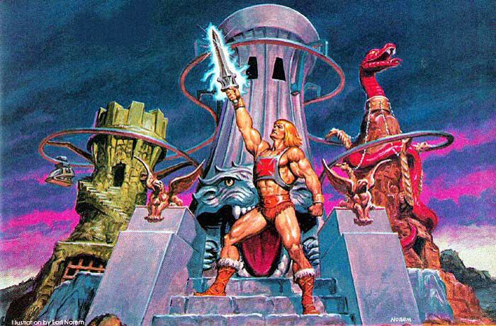 Artwork done by Earl Norem