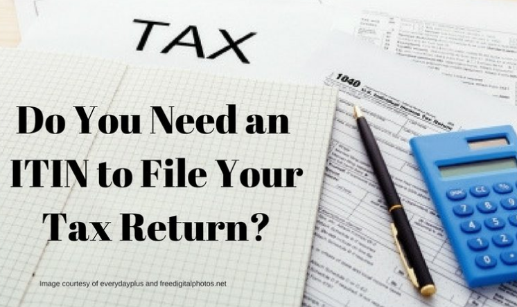 Individual Taxpayer Identification Number Information
