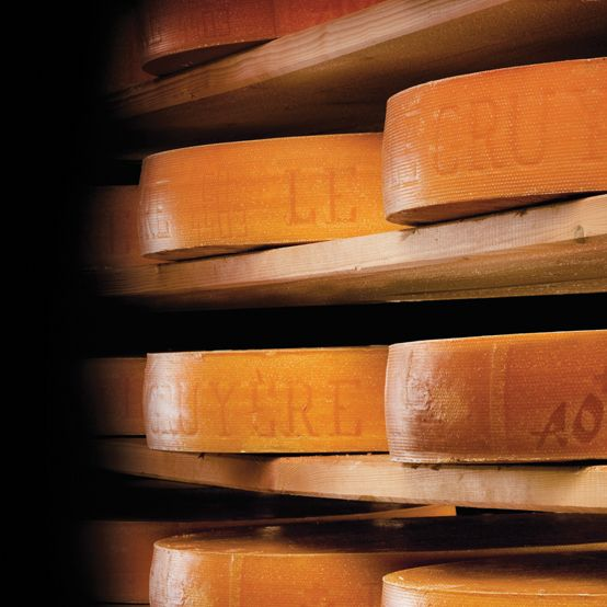 Did you know that the Gruyère AOP is produced since the year 1115 in the region of Gruyere?