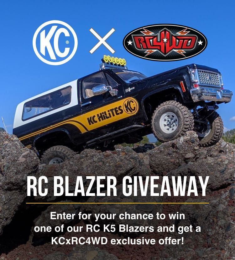 RC4WD GIVEAWAY in 2020 K5 blazer, Hot rods cars muscle