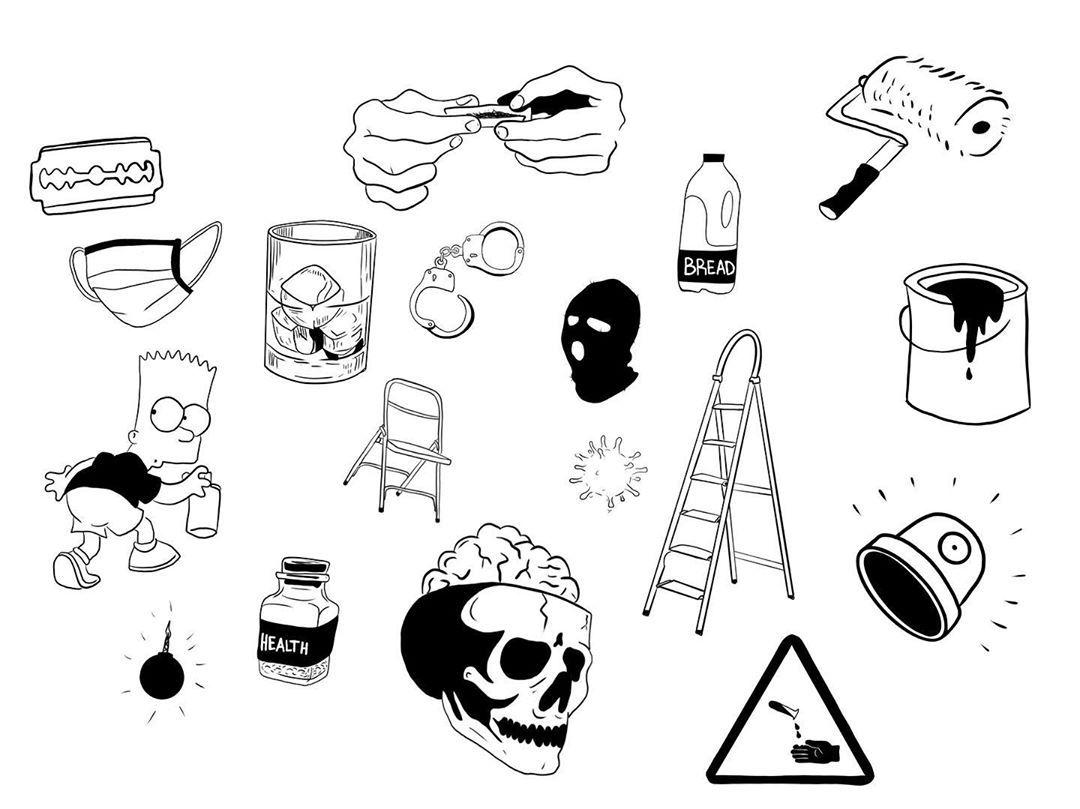 Flash de Cuarentena 🐢 💥 Tengo muchas ganas de tatuar cosas cuando acabe todo. Ya queda menos!  Cualquier idea DM! 📥  #flashtattoo #flash #designs #tattoo #art #artist #graffiti #tattooartist #tattoostyle #tattoodesign #tattoosociety #tattooart #tattooworld #artistsoninstagram