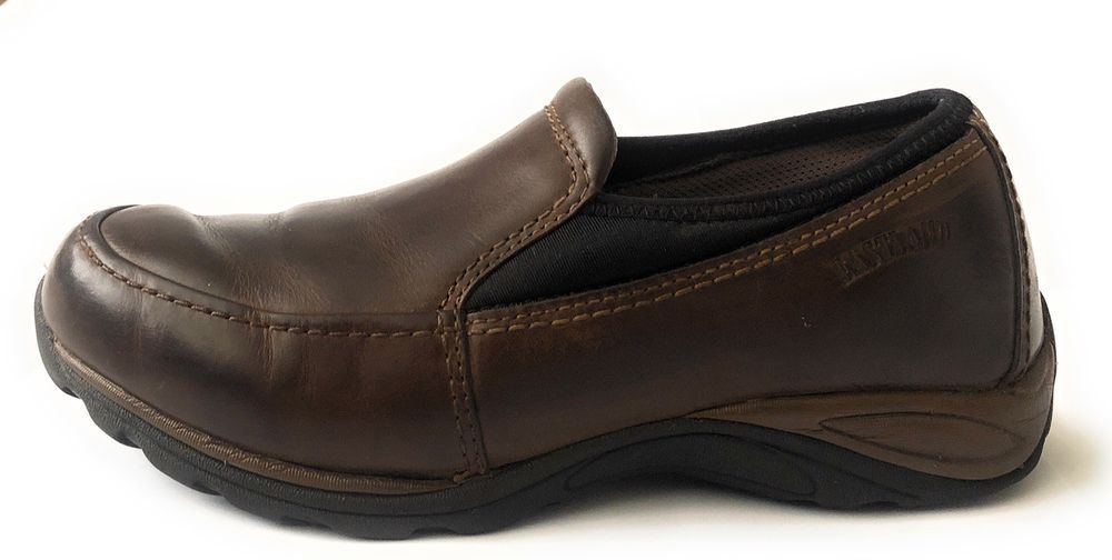 ae99db4103f Eastland Women s Sage Slip On Brown Leather Sports Shoes Size 8.5  fashion   clothing  shoes  accessories  womensshoes  flats (ebay link)