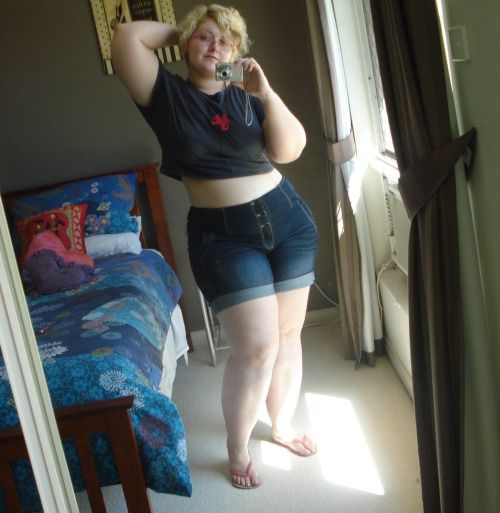 Love, love, love the way these shorts fit. | Thick, Curvy ...