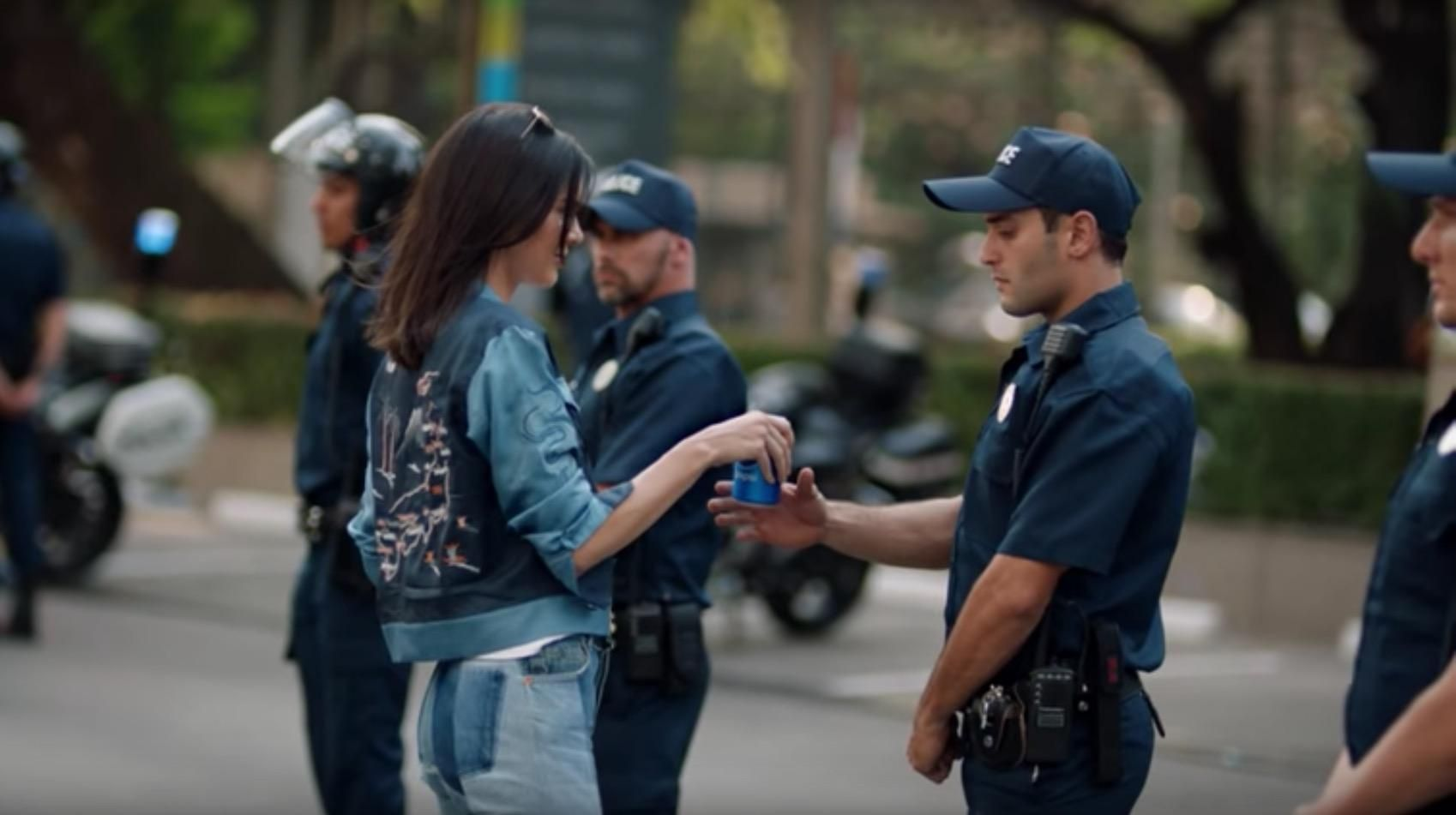 Pepsi ad: What happened when protestors tried offering police drinks