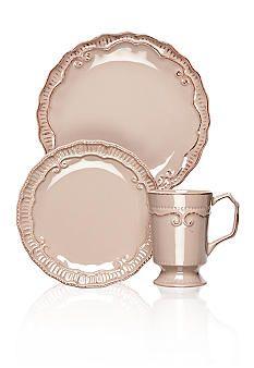 Home Accents® Capri Taupe Dinnerware  sc 1 st  Pinterest & Home Accents® Capri Taupe Dinnerware | Tablescaping | Pinterest ...