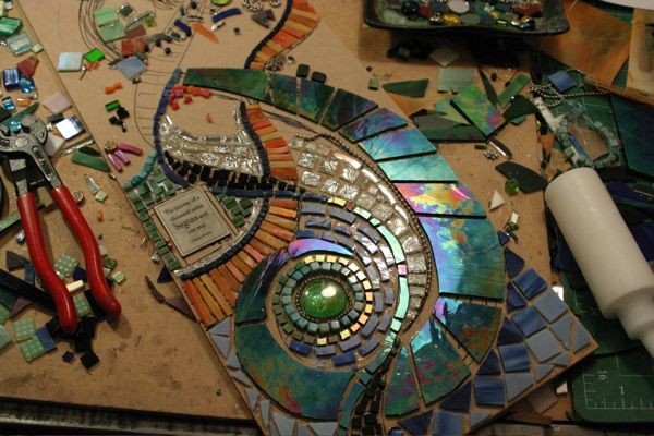 mosaic at kickin-glass.com