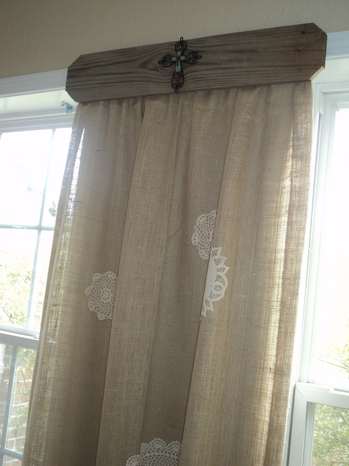 4 Window Bay Window Curtains