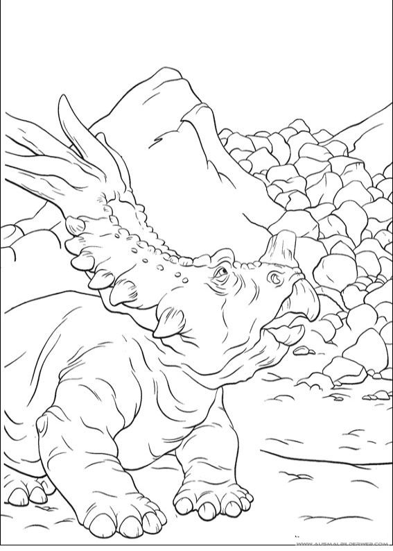 ausmalbilder dinosaurier3  ausmalbilder dinosaurier