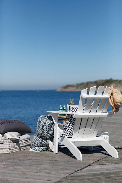Les Îles ♡ Beach scenes Pinterest Estacion verano - sillas de playa