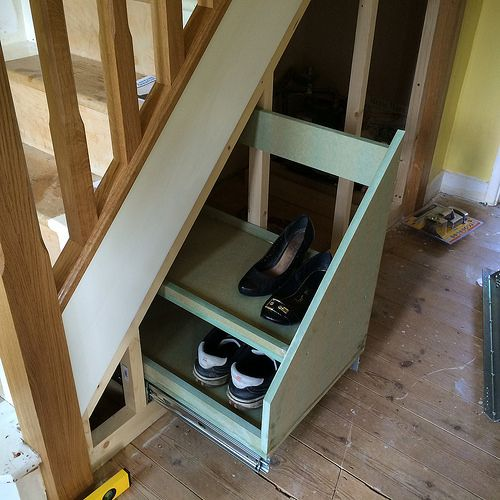 Great Pull Out Under Stairs Storage Tutorial