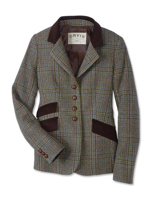 6342b83a6e28 Just found this Plaid Wool Tweed Blazer For Women - Irish Tweed Glen Plaid  Blazer -- Orvis on Orvis.com!