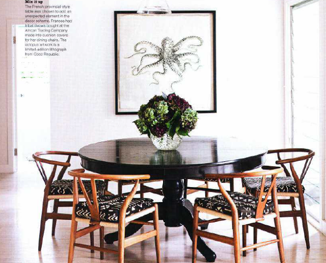 Monday Musings Wishbone Dining Table Black Round Wooden Dining