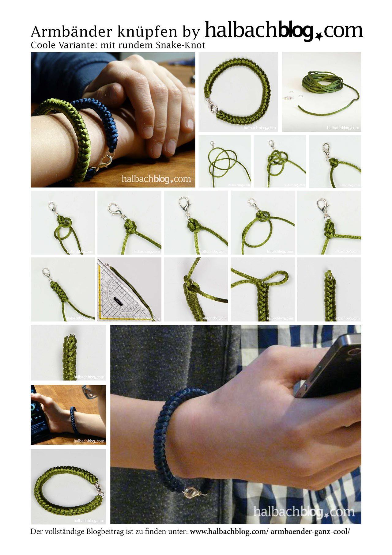 Eine Lassige Armbander Variante Zum Selber Machen Fur Alle Die Es