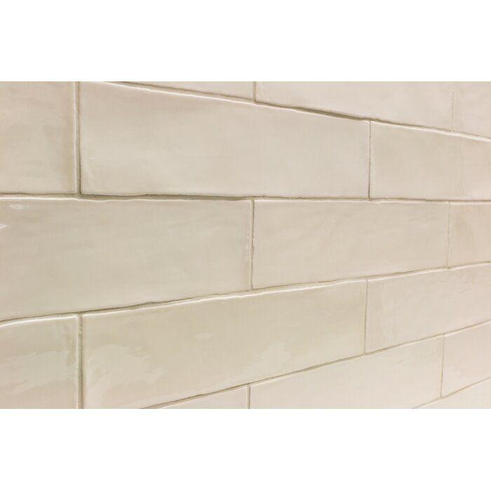 Catalina 3 X 12 Ceramic Subway Tile In 2021 Ceramic Subway Tile Cream Tile Backsplash Beige Subway Tile
