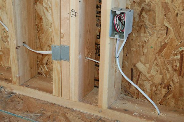 How To Install Electric Outlet Box Electric Box Tiny House Electricity
