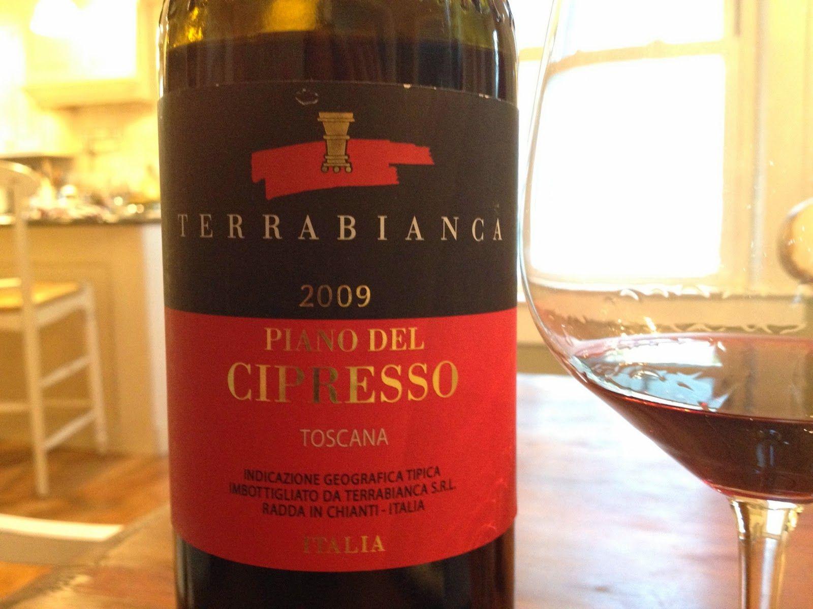 Piano Del Cipresso From Terrabianca In Radda 100 Sangiovese Stunning Wine Toscana Vino