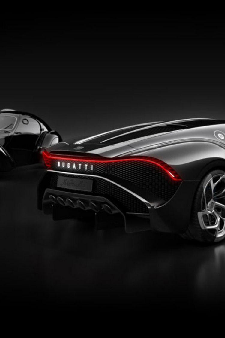 Fond Decran Bugatti La Voiture Noire