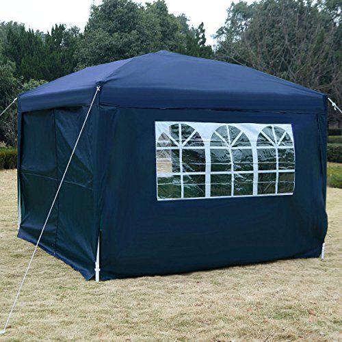 10x10 Ez Pop Up Tent Gazebo Wedding Party Canopy Shelter Carry Bag