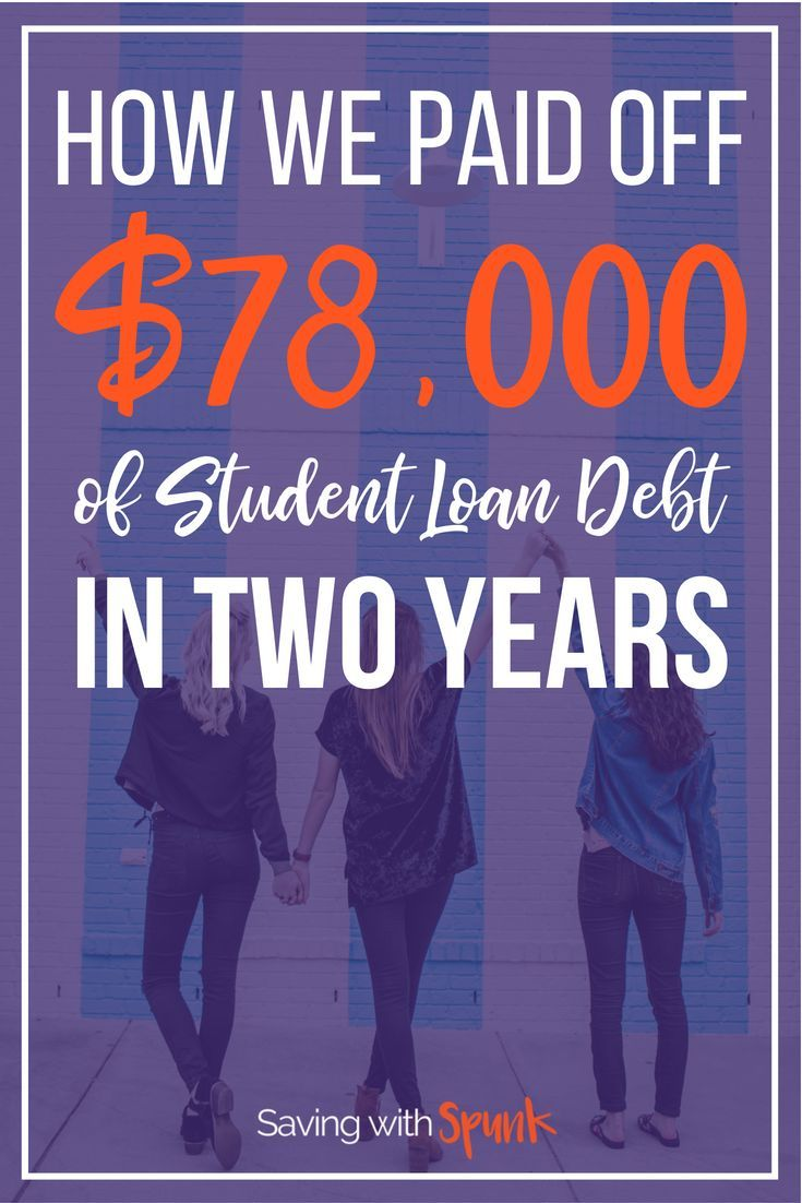 How we paid off 78k of debt with average
