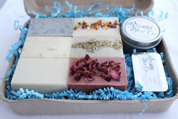 Pamper Gift Set Handmade Small Batch Soap All Natural Gifting